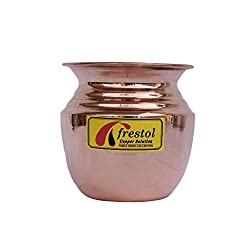 Frestol Copper Kalash Serveware, Tableware having Capacity 250 ML