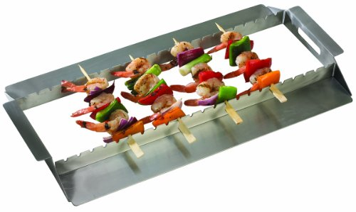Grill Pro 92339 Stainless Steel Kebab Rack