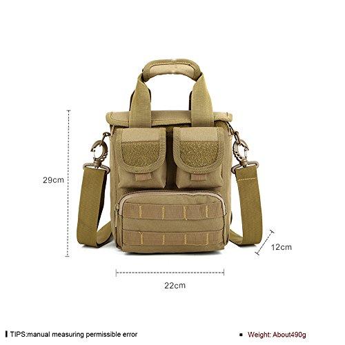 Faysting EU borsa a spalla borsa a tracolla per uomo studenti camuffamento colorato vari per scegliere buon regalo F