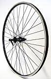 28 Zoll Fahrrad Laufrad Hinterrad Hohlkammerfelge CUT 19 Shimano Deore 610 schwarz 8/9/10-fach für V-Brakes / Felgenbremse