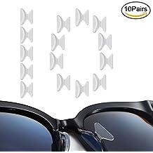 Naselli multicolore per occhiali da vista 5 paia di silicone v5fGdOse