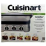 Cuisinart 5-en-1 para plancha Gourmet Griddler panini press GRID-8NSA by Cuisinart