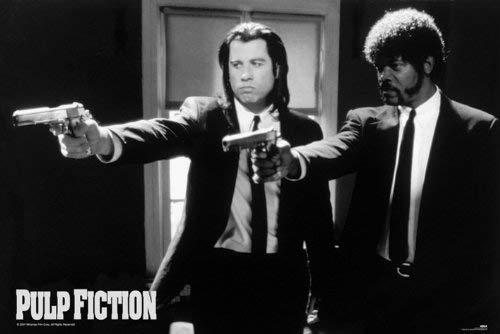 Empire Pulp Fiction Poster Guns
