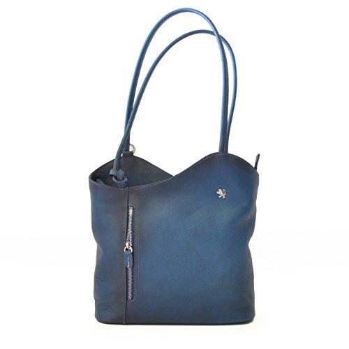 Pratesi Pelletterie , Sac pour femme à porter à l'épaule Multicolore Bleu