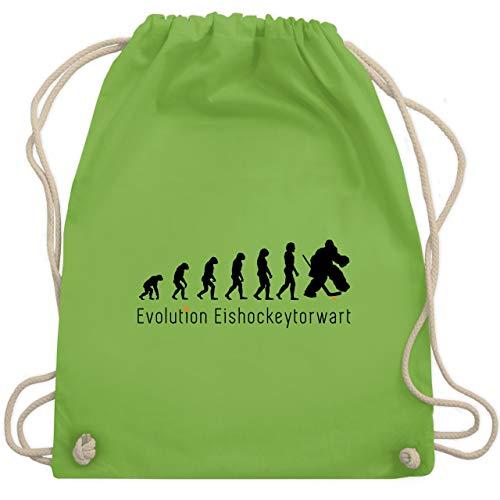 Evolution - Eishockeytorwart Evolution - Unisize - Hellgrün - WM110 - Turnbeutel & Gym Bag -
