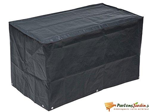 Nature Housse de barbecue à gaz 58 x 103 cm PE gris foncé 6030613