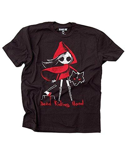 Hood Kostüm Dead Riding - Akumu Ink - Herren T-Shirt - Dead Riding Hood (XL)