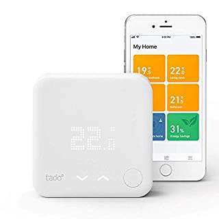 tado° Smart Thermostat Starter Kit V3+ - Intelligent heating control, works with Amazon Alexa, Apple HomeKit, Google Assistant, IFTTT (B07FZ3P393) | Amazon price tracker / tracking, Amazon price history charts, Amazon price watches, Amazon price drop alerts