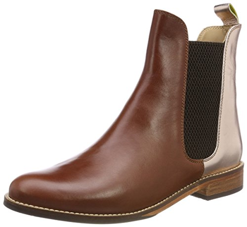 Joules Women's Westbourne Chelsea Boots, Brown (Rose Gold), 6 (39 Eu)