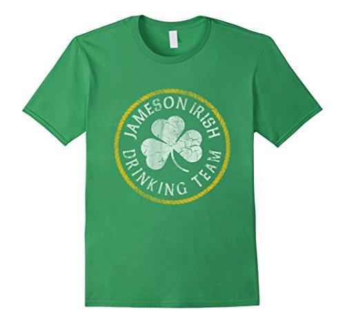 jameson-irish-drinking-team-shirt-herren-grosse-m-grun