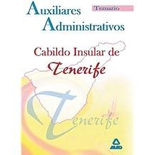 Auxiliares Administrativos Del Cabildo Insular De Tenerife. Temario