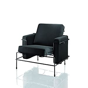 Magis Traffic Armchair Black/Dark brown fabric
