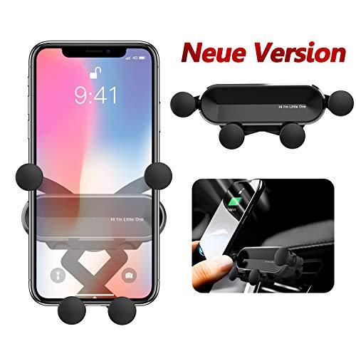 BellFan Handyhalterung für Auto, Schwerkraft Auto Handyhalterung Air Vent Universal-Kfz-Handyhalter kompatibel für iPhone XS MAX/XS/XR, Galaxy S10/S10+ (für 4,7\'\' - 6,5\'\') (Schwarz)