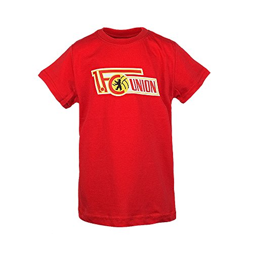 1. FC Union Berlin T-Shirt Logo-Rot für Kinder (128)