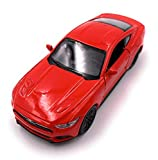 H-Customs Welly Ford Mustang GT 2015 Modellauto Auto Lizenzprodukt 1:34-1:39 Rot
