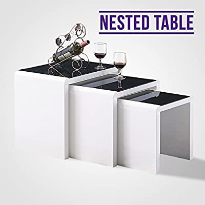 UEnjoy Nest of Tables Set of 3 - cheap UK light shop.