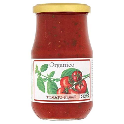 Organico Tomate Et Sauce Au Basilic 340G De Toscane - Paquet de 6