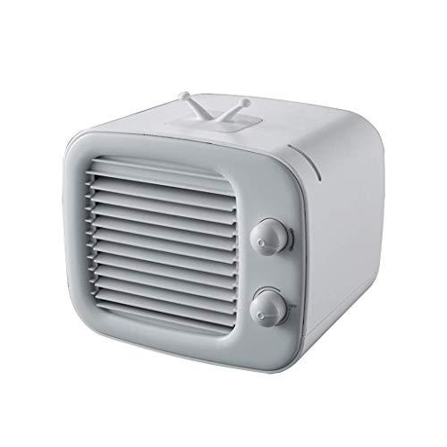 BXXR Sommer Heatstroke Artefakt-Luftkühler Desktop Office Usb Mute Mini Kleine Klimaanlage Tragbarer Lüfter Zwei Farben 172 X 185 Mm,Grau -