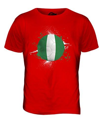CandyMix Nigeria Fußball Herren T Shirt Rot