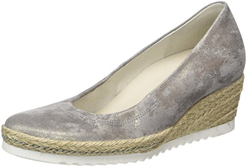 Gabor Shoes Damen Comfort Pumps, Beige (Taupe Jute 93), 40 EU