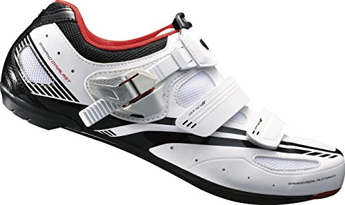 Shimano Erwachsene Fahrradschuhe Rennradschuhe SH-R107W GR. 45 SPD-SL SPD Klett-/Ratsche,  Preisvergleich