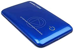 "Peekton MiniPeek 288 Boitier Multimédia 2,5"" SATA HDMI USB Bleu"
