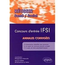 Annales du concours d'entrée en IFSI