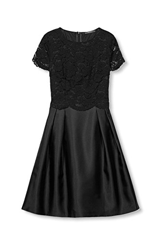 ESPRIT Collection Damen Kleid Schwarz (Black 001)