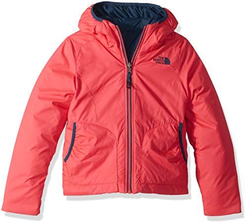 The north face, g rev perrito jkt, giacca, bambina, rosa (atomic pink), m