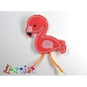 Flamingo Haarspange für Kleinkinder – freie Farbwahl