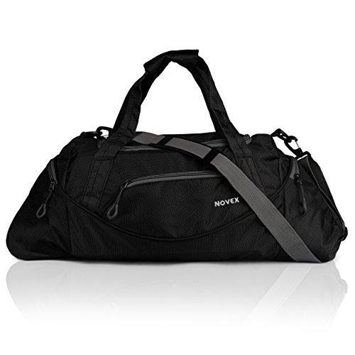Novex Lite Black Gym Bag