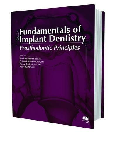 Fundamentals of Implant Dentistry: Prosthodontic Principles by John Beumer III (2015-03-15)