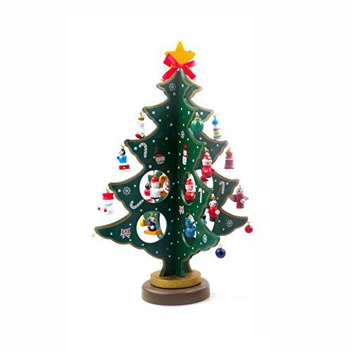 Toifucos Árbol Navidad Madera Sobremesa Decoración