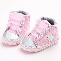Zolimx Ragazze ragazzi bambino tela scarpe sportive Anti-slittamento morbido suola