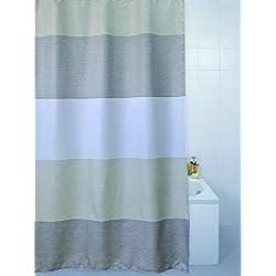 Azul de la Barranca poliéster cortina de ducha 180 cm x 200 cm Horizon