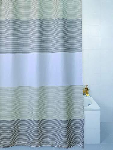 Weiss Strass Luxus Duschvorhang 180cm X 180cm Mit 12 Gratis Haken
