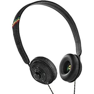 House of Marley Harambe Headphones with Mic - Midnight