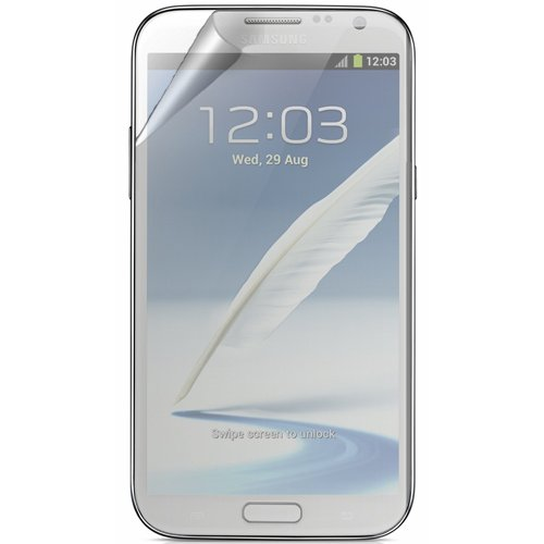 RND Displayschutzfolien für Samsung Galaxy Note II, inkl. Fusselreinigungstücher, 3 Stück, blendfrei (Galaxy Note Samsung 2 Zagg)