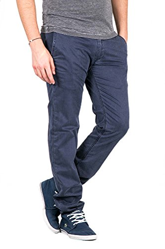 FIFTY FOUR - Homme jeans skinny fit novel blue