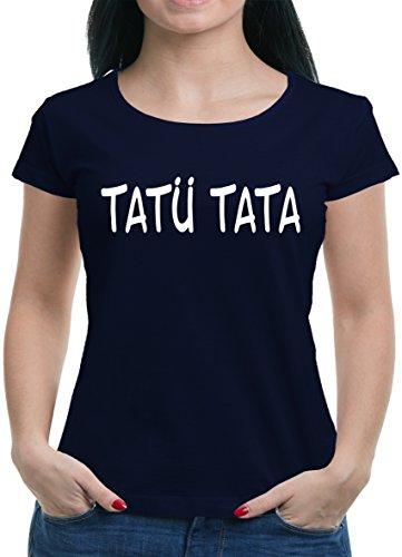TLM Tatü Tata T-Shirt Damen XL (Kostüme Halloween Party Stadt Polizei)