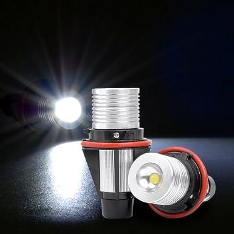 THG Direct Fit - Bombillas de ledes Q5, 5 W y 6000 K para faros de BMW E39, E53, E60, E61, E63, E65 y E87 de las series 1, 3, 5 y 7
