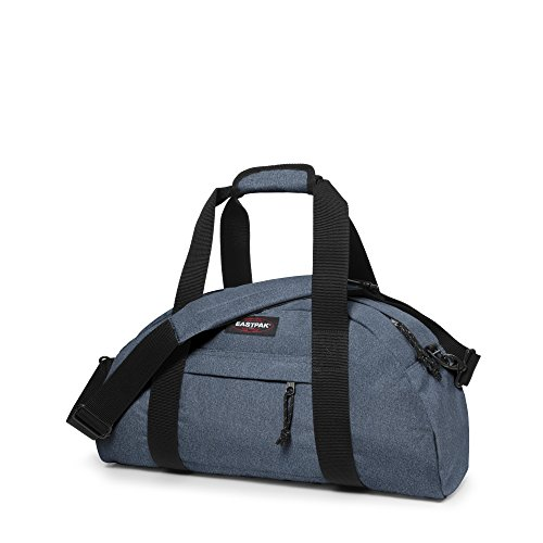 Eastpak Stand Borsone, 32 Litri, Grigio (Nero Denim) Blu (Double Denim)