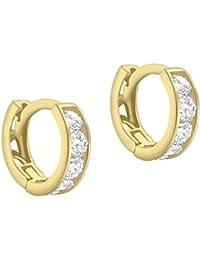 Carissima Gold Damen-Ohrringe 9 k (375) Zirkonia gold 1.58.9199