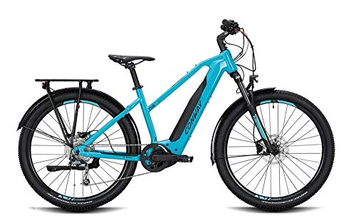 ConWay Cairon C 227 SE Damen E-Bike 500Wh E-Mountainbike Elektrofahrrad Turquoise/Black 2020 RH 46 cm / 27,5 Zoll