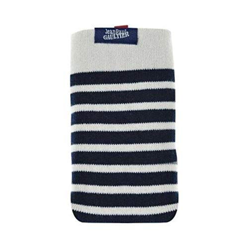 Jean Paul Gaultier Handysocke Sailor Blau/Weiß für max. Phone: 136,6 × 69,8 × 7,9 mm