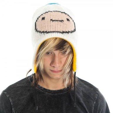 Adventure Time Reversible Laplander Hat (Adventure Time Finn Kostüme Erwachsene)
