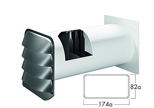 E-Jal Col® 125 Mauerkasten inkl Rechteckanschl THERMOBOX Wärmerückhaltesystem