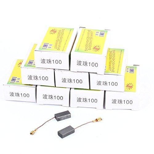 10 paires de perceuse électrique d'alimentation d'outils à moteur Brosses carbone
