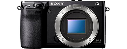 Sony NEX-7B Systemkamera (24 Megapixel, 7,5 cm (3 Zoll) Display, Full HD Video) Gehäuse Sony-video-gehäuse