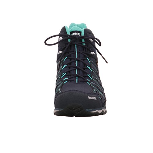 Meindl Shoes X-so 70 Lady Mid Gtx Surround - Turchese / Antracite Blu / Turchese